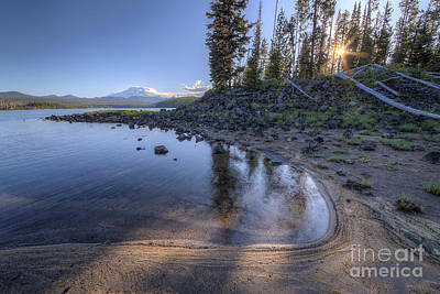 Bend Oregon Photograph - Cove On Sparks Lake by Twenty Two North Photography