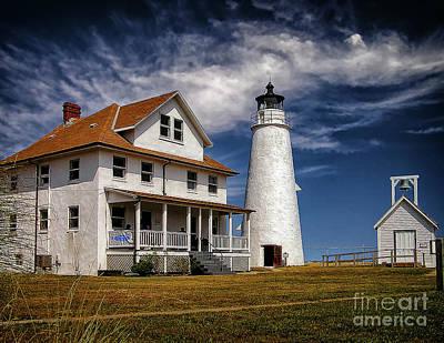 Photograph - Cove Point Lighthouse by Nick Zelinsky