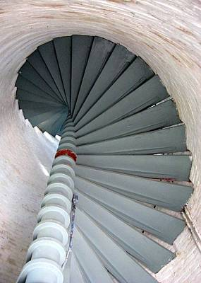 Photograph - Cove Point Lighthouse Stairs by Tana Reiff