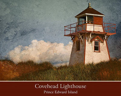 Photograph - Covehead Lighthouse 2 by WB Johnston
