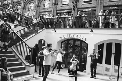 Photograph - Covent Garden Music by Rasma Bertz