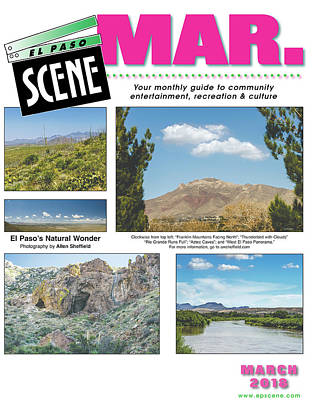 Photograph - Cover Of El Paso Scene by Allen Sheffield