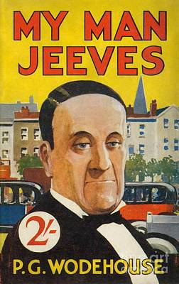 Cover Of The American Edition Of P. G. Wodehouse's My Man Jeeves Art Print by Celestial Images
