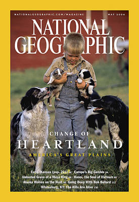 Cover Of The May, 2004 Issue Print by Jim Richardson