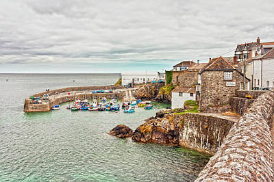 Photograph - Coverack Harbour by Terri Waters