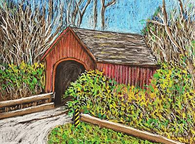 Painting - Covered Bridge by Reb Frost