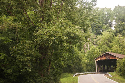 Photograph - Covered Bridge 2 by Melissa Newcomb