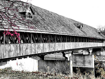 Photograph - Covered Bridge 2 by Scott Hovind
