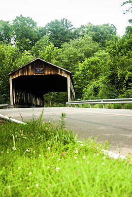 Photograph - Covered Bridge 3 by Melissa Newcomb