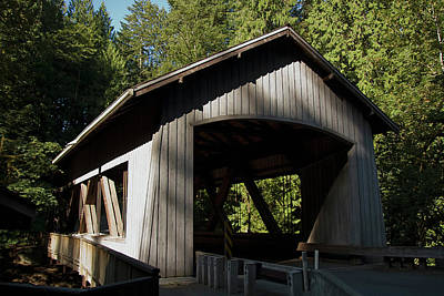 Photograph - Covered Bridge by Craig Strand
