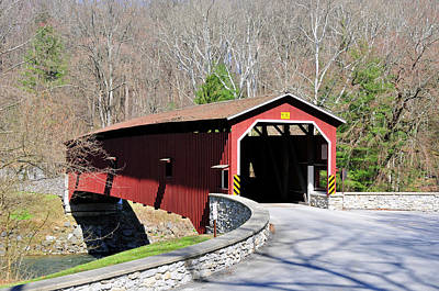 Photograph - Covered Bridge by David Arment