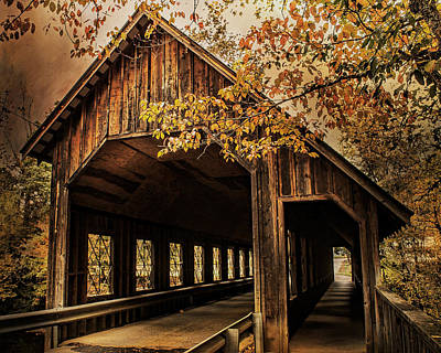 Photograph - Covered Bridge  by TnBackroadsPhotos