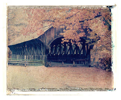 Photograph - Covered Bridge by Joe  Palermo