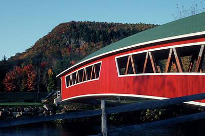 Photograph - Covered Bridge by John Clark