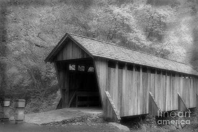 Photograph - Covered Bridge by Karol Livote