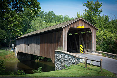 Photograph - Covered Bridge by Kenneth Cole