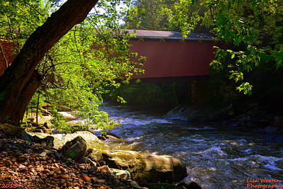 Photograph - Covered Bridge by Lisa Wooten