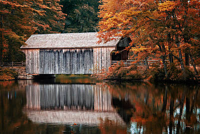 Covered Bridge Osv Art Print