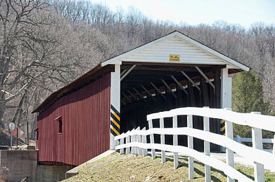 Photograph - Covered Bridge Pa by David Arment