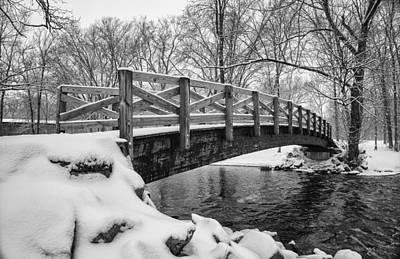 Covered Bridge Park #1 Art Print by Jeff Klingler