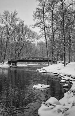 Covered Bridge Park #2 Art Print by Jeff Klingler