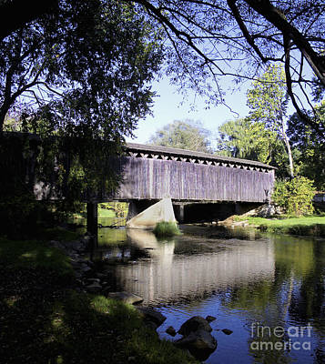 Photograph - Covered Bridge by Ricky L Jones