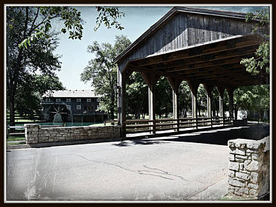 Photograph - Covered Bridge by Roseann Errigo