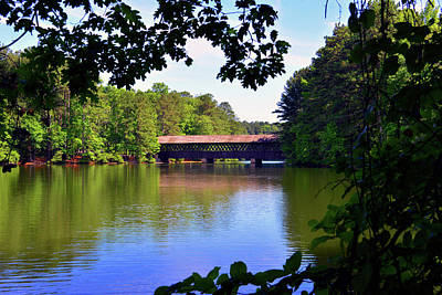 Photograph - Covered Bridge Work 3 by David Lee Thompson