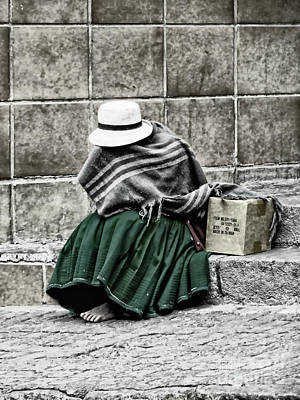 Photograph - Covered In Poverty II by Al Bourassa