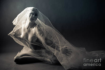 Orgasm Photograph - Covered Nude by Jt PhotoDesign