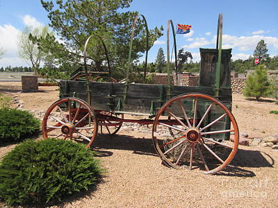 Covered Wagon Original by Frederick Holiday