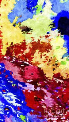 Covert Painting - Covert Map by GabeZ Art
