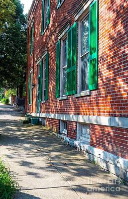 Photograph - Covington Kentucky Sidewalk Scenes by Mel Steinhauer