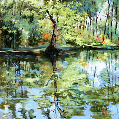 Painting - Covington Pond by Dianne Parks