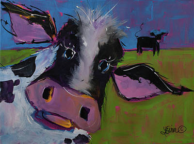 Painting - Cow 1 by Terri Einer