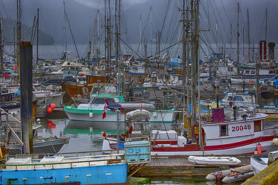 Photograph - Cow Bay Commercial Fishing Boats by Richard Lee