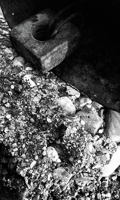 Photograph - Cow Bell And Rock by Ashley Heath