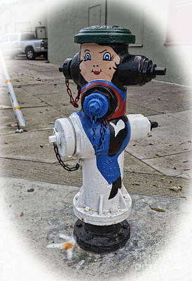 Photograph - Cow Girl And Steed Hydrant by Jim Fitzpatrick
