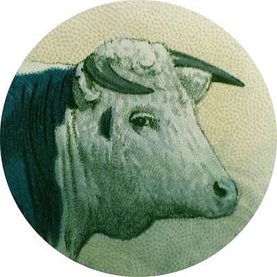 Veterinary Digital Art - Cow IIi by Desiree Warren