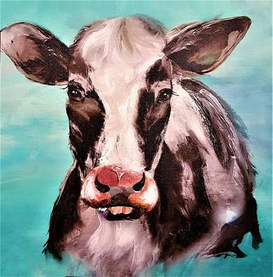 Photograph - Cow In The Sky by Rob Hans