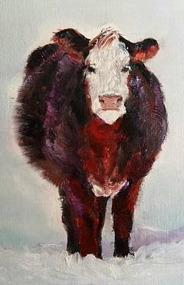 Painting - Cow Painting  by Michele Carter