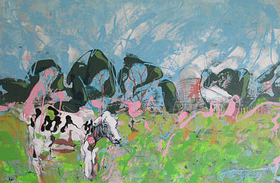 Painting - Cow Pasture by Jeff Seaberg