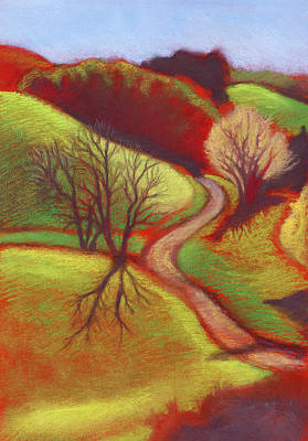 Cow Pasture Wildcat Canyon Art Print