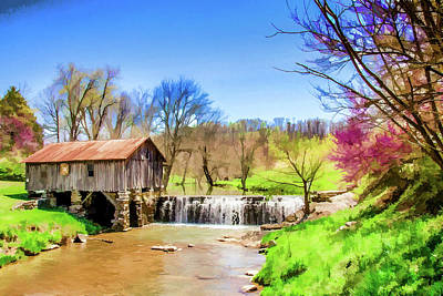 Cowan's Mill Art Print