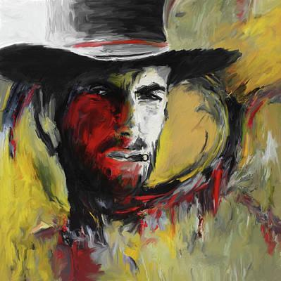 Painting - Cowboy 246 3 by Mawra Tahreem