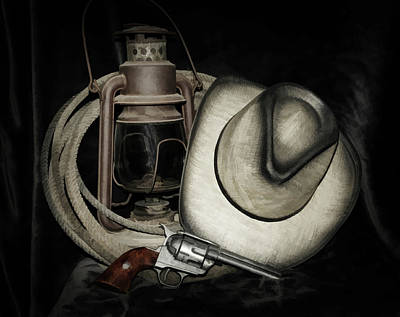 Photograph - Cowboy Accessories by Athena Mckinzie
