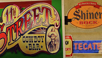 Photograph - Cowboy Bar And Beer by Nadalyn Larsen