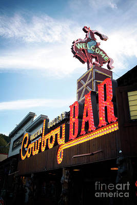 Photograph - Cowboy Bar by Scott Kemper