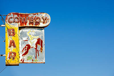 Photograph - Cowboy Bar by Todd Klassy
