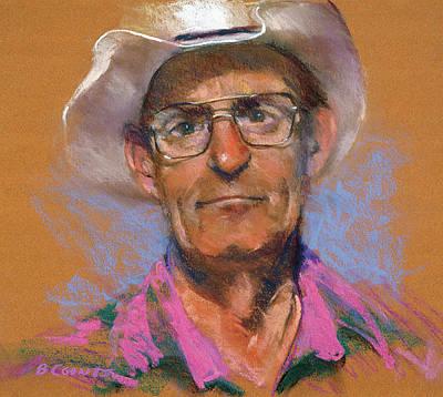 Cowboy Art Print by Bob Coonts